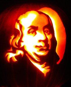 benjamin-franklin-pumpkin-carving-245x300