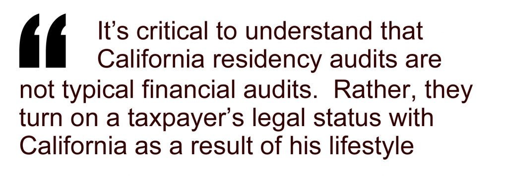 California Residency Audit article pull quote